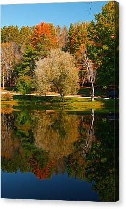 Letchworth Autumn Reflections Canvas Print