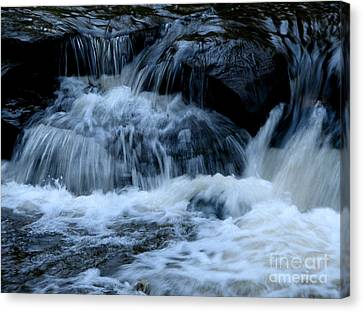 Letchworth State Park Genesee River Cascades Canvas Print by Rose Santuci-Sofranko
