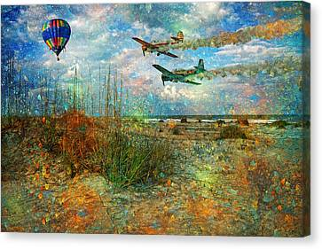 Let's Fly Canvas Print by Betsy Knapp