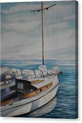 Let's Sail Canvas Print