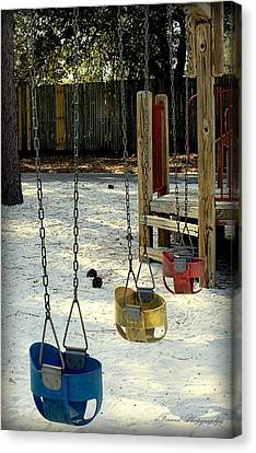 Let's Swing Canvas Print
