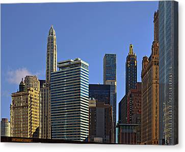 Let's Talk Chicago Canvas Print by Christine Till