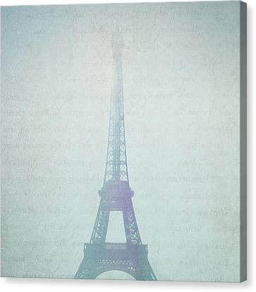 Letters From Paris Canvas Print