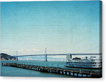 Canvas Print featuring the photograph Letters From San Francisco by Lisa Parrish