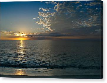 Canvas Print featuring the photograph Letting The Light In by Melanie Moraga