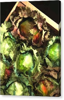 Lettuce Entertain You Canvas Print