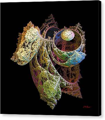 Levitation Canvas Print by Michael Durst