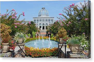 Lewis Ginter Botanical Garden Canvas Print by Charlotte Gray