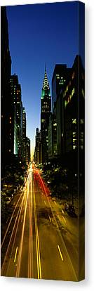 Lexington Avenue, Cityscape, Nyc, New Canvas Print by Panoramic Images