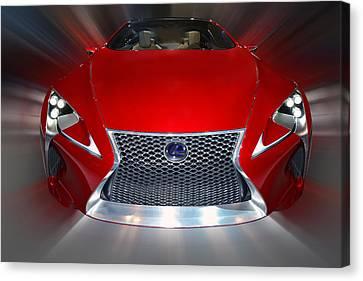 Lexus L F - L C Hybrid 2013 Canvas Print