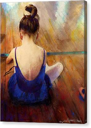 Dance Studio Canvas Print - LG by Andrew King