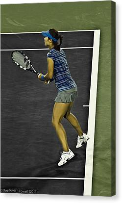 Li Na Canvas Print by Rexford L Powell