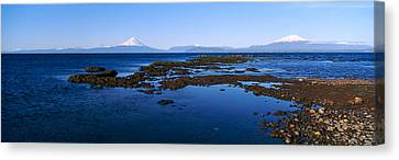 Lianquihue Lake Osorno Chile Canvas Print by Panoramic Images