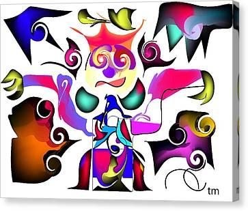 Liberace Canvas Print by Andy Cordan