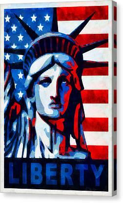 Liberty 1 Canvas Print