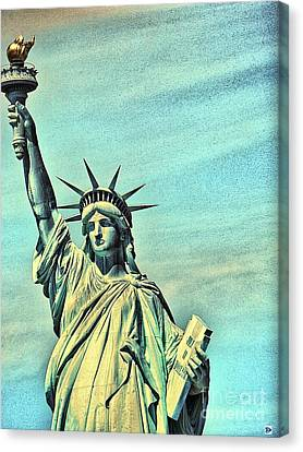Liberty Canvas Print by Andy Heavens