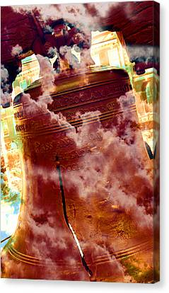 Liberty Bell 3.1 Canvas Print by Stephen Stookey