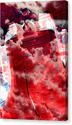 Liberty Bell 3.5 Canvas Print by Stephen Stookey