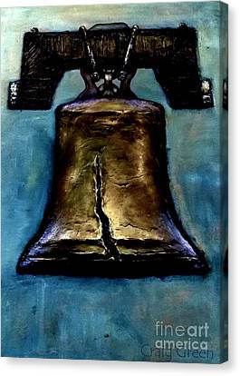 Liberty Bell Canvas Print by Craig Green