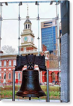 Liberty Bell Canvas Print by Nick Zelinsky