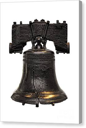 Liberty Bell Canvas Print by Olivier Le Queinec