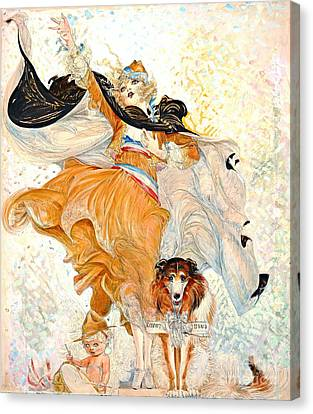 Liberty Bond Ad 1917 Canvas Print