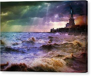 Liberty Broils Canvas Print