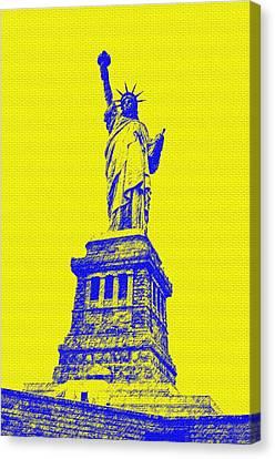 Liberty Canvas Print by  Eliso Ignacio Silva Simancas