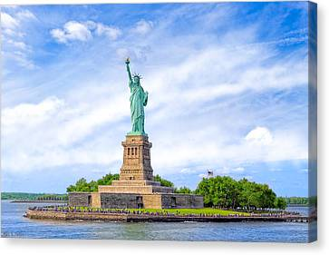 Liberty Enlightening The World - New York City Canvas Print