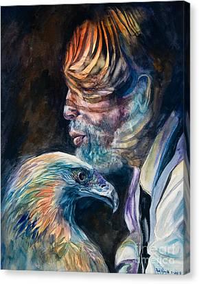 Liberty Canvas Print by Paula Visnoski