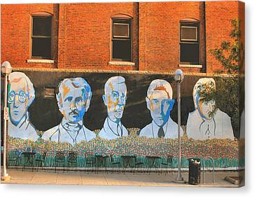 Liberty Street Mural Canvas Print