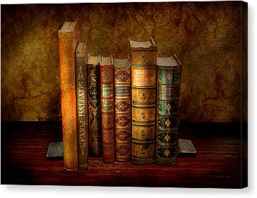 Librarian - Writer - Antiquarian Books Canvas Print by Mike Savad