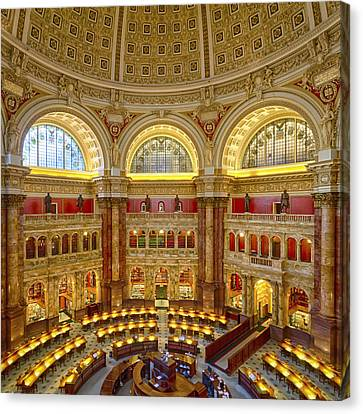 Library Of Congress Canvas Print
