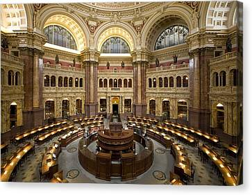 Library Of Congress Canvas Print by Mountain Dreams