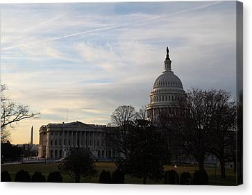 Library Of Congress - Washington Dc - 011325 Canvas Print by DC Photographer