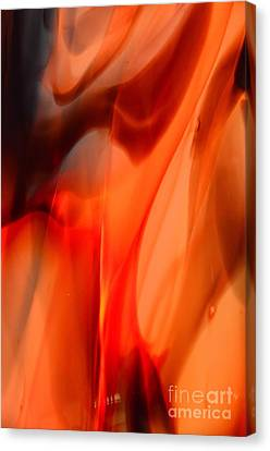 Licking Flame Canvas Print by Lauren Leigh Hunter Fine Art Photography