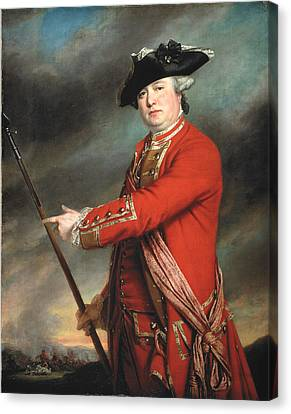 Lieutenant Colonel Francis Smith 1764 Canvas Print