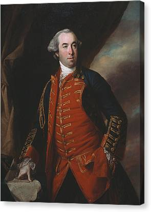 Lieutenant Colonel William Phillips 1764 Canvas Print by Francis Cotes