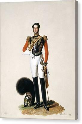 Full-length Portrait Canvas Print - Lieutenant Thomas Myddleton Biddulph by Alexandre-Jean Dubois Drahonet