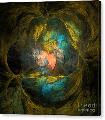 Canvas Print featuring the digital art Life After by Arlene Sundby