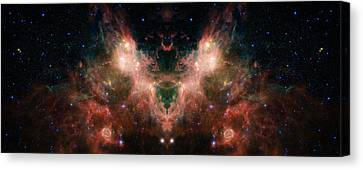 The Universe Canvas Print - Life And Death Of Stars 4 by Jennifer Rondinelli Reilly - Fine Art Photography