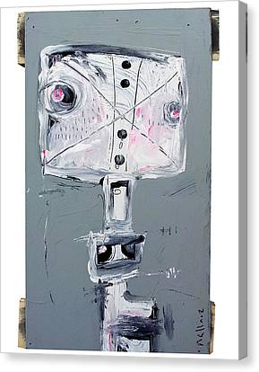 Life As Human Number 26 Ghosts Canvas Print by Mark M  Mellon