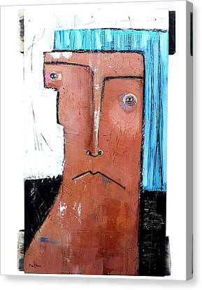 Life As Human Number Fifteen Canvas Print by Mark M  Mellon