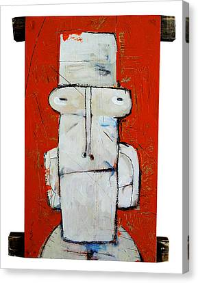 Life As Human Number Ten Canvas Print by Mark M  Mellon