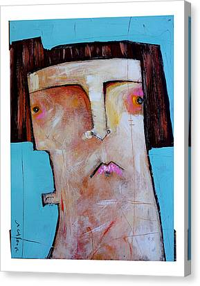 Life As Human Number Thirty Three Canvas Print by Mark M  Mellon