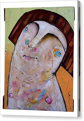 Life As Human Number Thirty Two Canvas Print by Mark M  Mellon