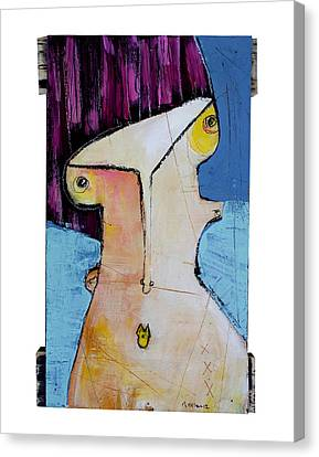 Life As Human Number Twenty Canvas Print by Mark M  Mellon