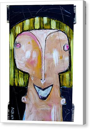 Life As Human Number Twenty Three Canvas Print by Mark M  Mellon