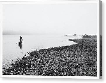 Life At Mekong River Canvas Print by Setsiri Silapasuwanchai