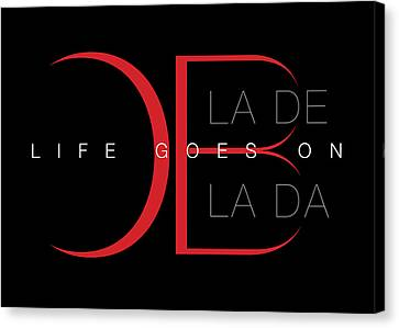 Life Goes On 1 Canvas Print by Stephen Anderson